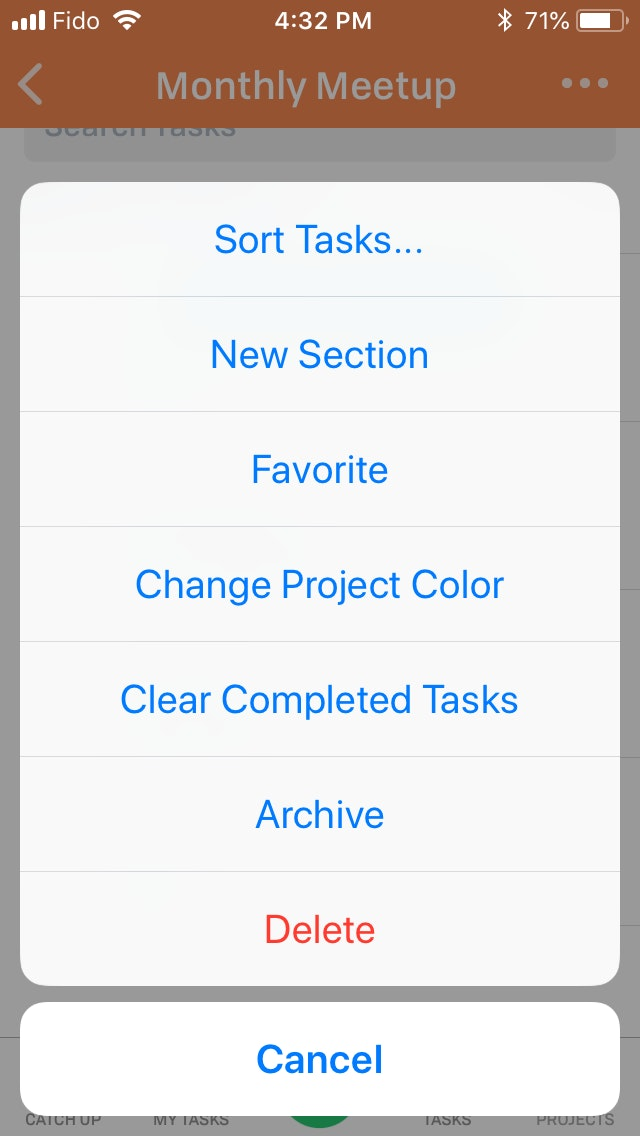 Editing Projects Ios 3