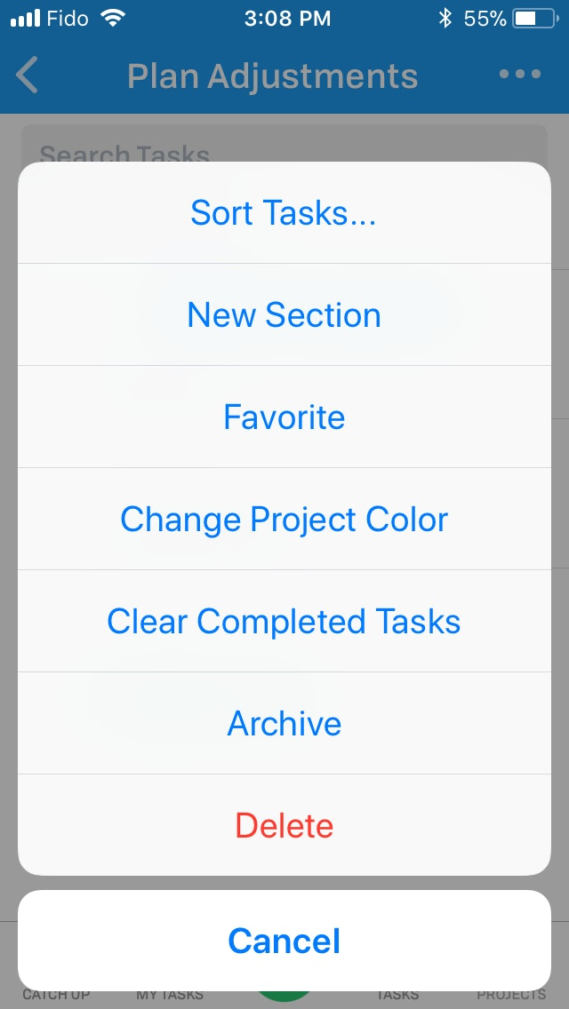 Sections Ios 5 1